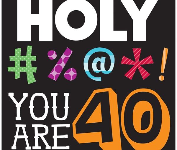 Bijna 40…